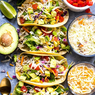 Instant Pot Cilantro Lime Pulled Chicken Tacos Recipe