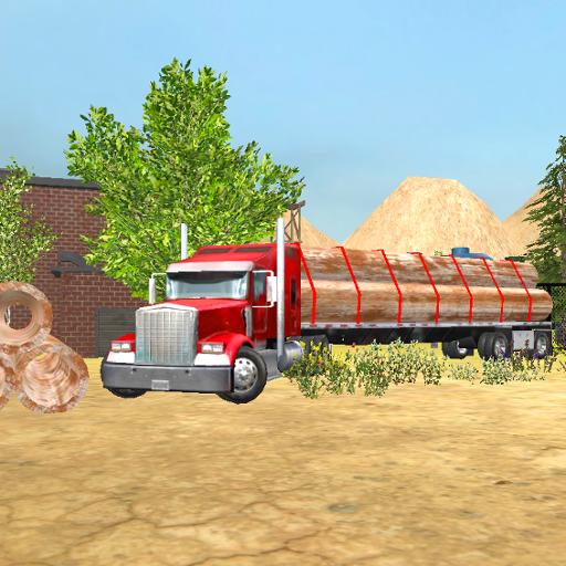 Steel Transport Truck 3D