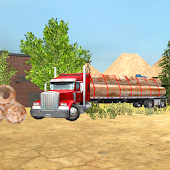 Steel Transport Truck 3D