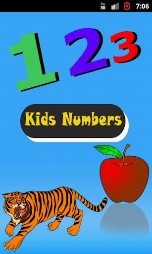 Kids Number