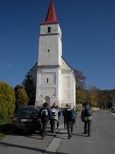 Photo: Prvé kroky vedú okolo kostola...