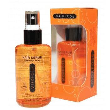 Nourish the hair with serum