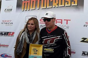 Sergio Valverde hace doblete en MX Andalucía