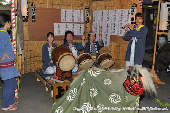 Photo: 【平成23年(2011) 宵宮】  桟敷での演舞。