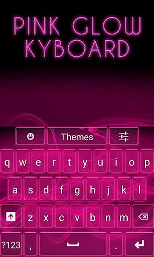 Pink Glow Keyboard