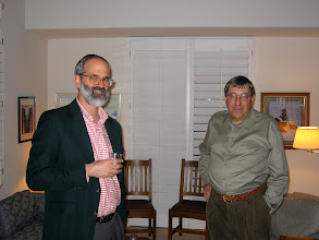Photo: Professor Ted Wright and Joe Phelps