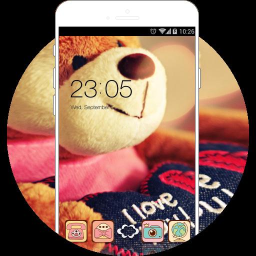 Cute Bear Love Theme: lovehearts