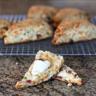 Savory Bacon and Cheddar Scones