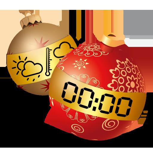 新年时钟和天气小工具 天氣 App LOGO-硬是要APP