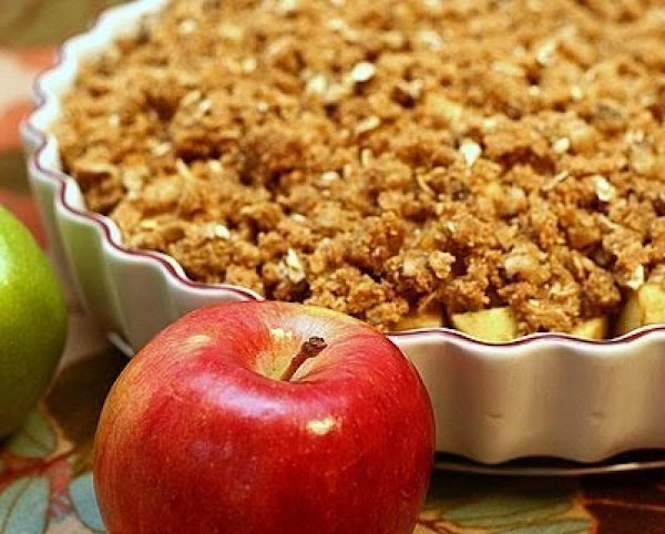 Apple, Pear And Cranberry Crunch Recipe