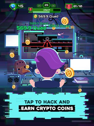 Hacking Hero - Cyber Adventure Clicker screenshots 14