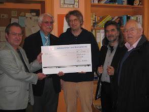 Photo: Spendenübergabe Diakonissenverein