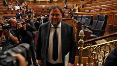 Oriol Junqueras en el Congreso de los Diputados.