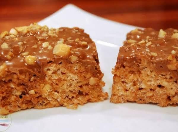 Snickers Rice Krispie Treats Recipe