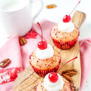 Cherry Pecan Cream Cheese Muffins