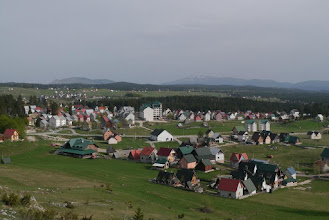 Photo: View of small town of Zabljak, popular gateway for summer & winter outdoor activities inside Durmitor National Park