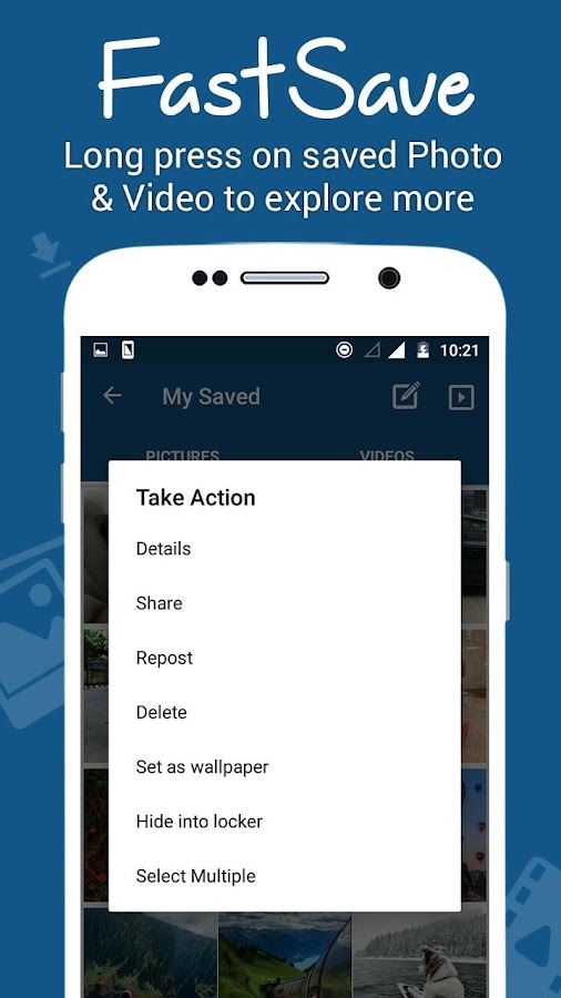 FastSave for Instagram- screenshot