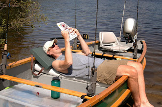 Photo: Relaxing in the boat at Brighton State Park