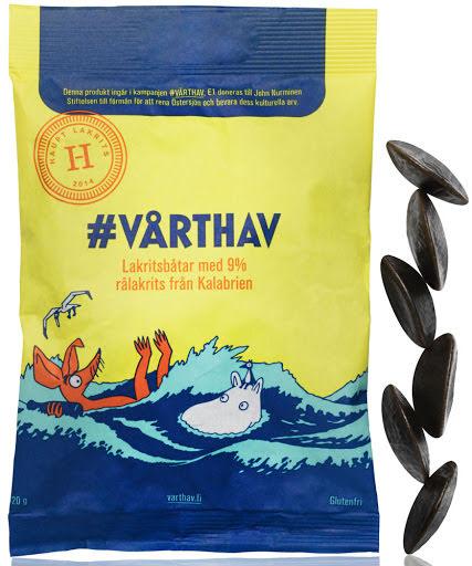 #Vårthav - glutenfri lakritsbåt - Haupt Lakrits