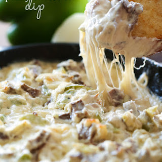 Philly Cheese Steak Dip.