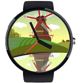 Windmill Watch Face
