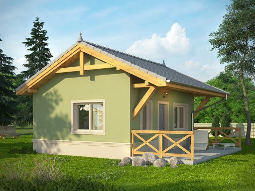 projekt Domek 1
