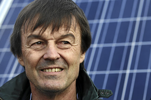 French minister for ecological and inclusive transition Nicolas Hulot visits a photovoltaic power plant in Allonnes, near Le Mans, France, on January 8 2018. Picture: REUTERS/STEPHANE MAHE