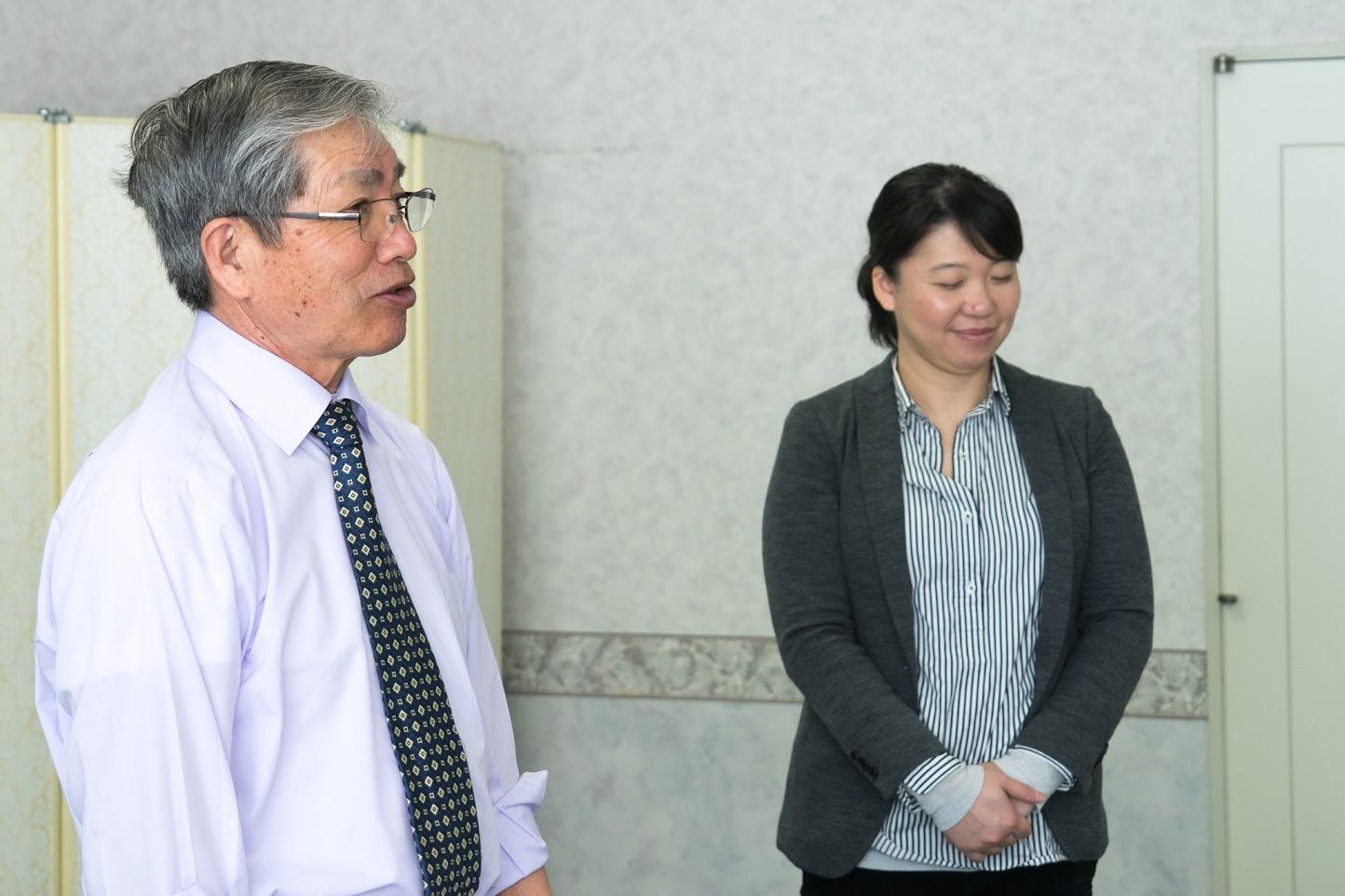 高田理事長から締めのご挨拶