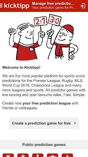 Kicktipp - Football predictor game and more  screenshots 1