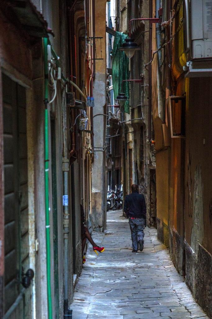 Vicino a via del Campo... di Francesco_Segantini