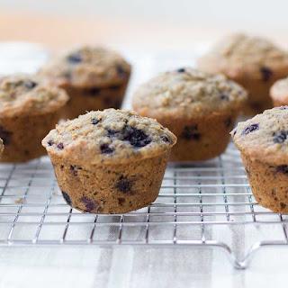 Blueberry Oatmeal Chia Milk-Making Muffins.
