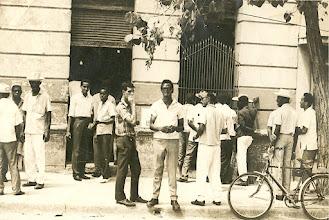 Photo: Le Foco de Los Hoyos avant sa première transformation - non daté (années 60-70?) - archives familiales Herrera Zapata
