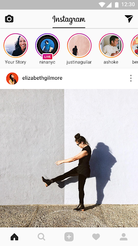 Instagram Android App Screenshot