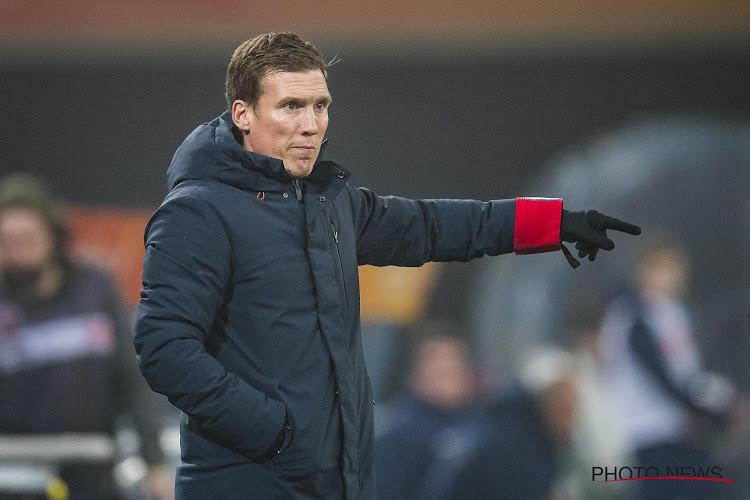 """Hannes Wolf was niet tevreden over de eerste helft van zijn ploeg: """"We gaven het te makkelijk weg"""""""