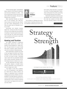 Nevada Business Magazine- screenshot thumbnail
