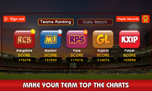 Game World Cricket: I.P.L T20 2016 APK for Windows Phone