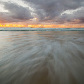 Retraction by Matthew Wood - Landscapes Beaches