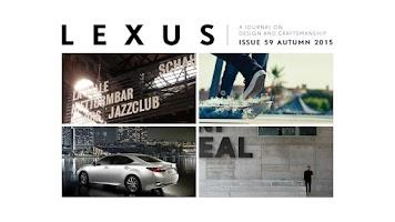 Screenshot of LEXUS i-Magaizne