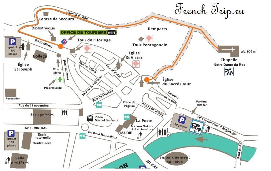 Парковки в Кастеллане - как добраться в Кастеллан