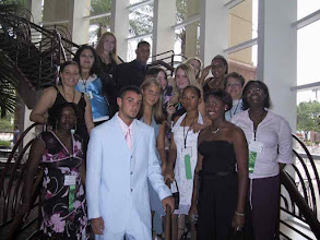 Photo: Cayman Prep ready for the Governer's farewell banquet