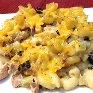 Tuna Casserole with a Twist.