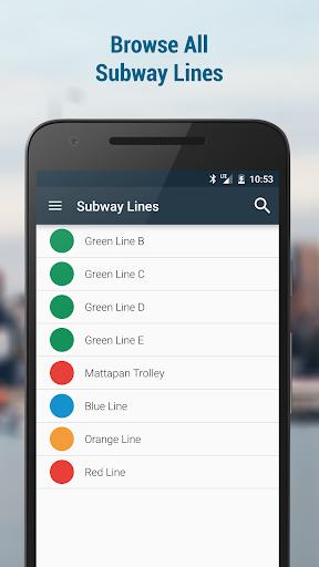 玩免費遊戲APP|下載Boston Transit (MBTA Realtime) app不用錢|硬是要APP