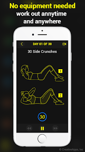 30 Day Abs Trainer Free - náhled