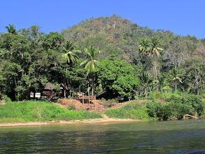 Photo: The Thai border post a quarter kilometer from Myanmar