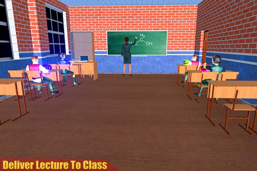 Virtual High School Teacher 3D apkpoly screenshots 11