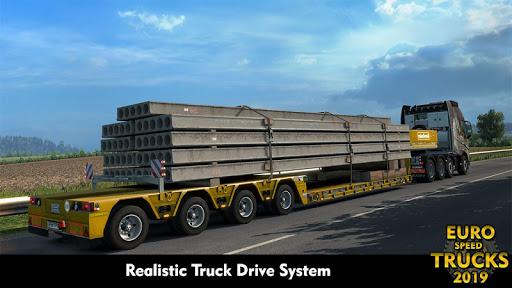 Euro Truck Speed Simulator 2019: Truck Missions  captures d'écran 1