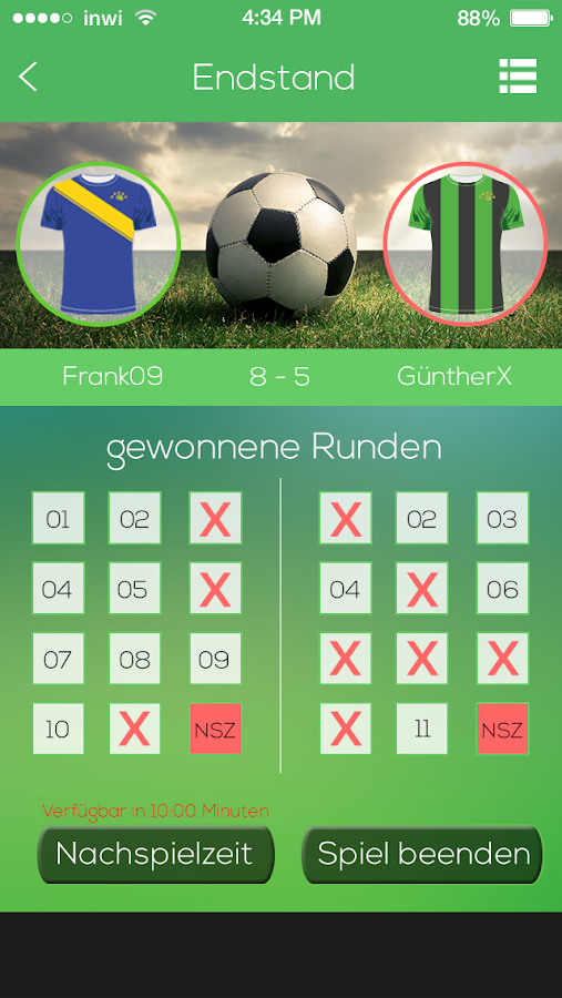 SoccerQuizTime- screenshot