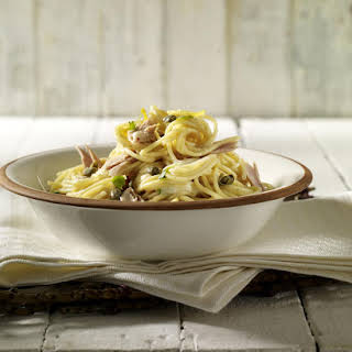 Tuna and Caper Spaghetti.
