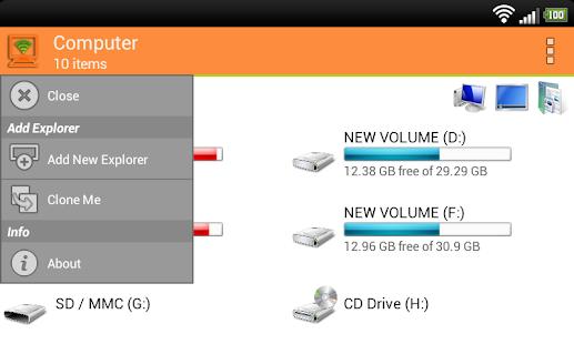 WiFi PC File Explorer Pro v1 5 25 [Latest]   APK4Free