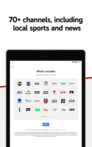 YouTube TV screenshot 12